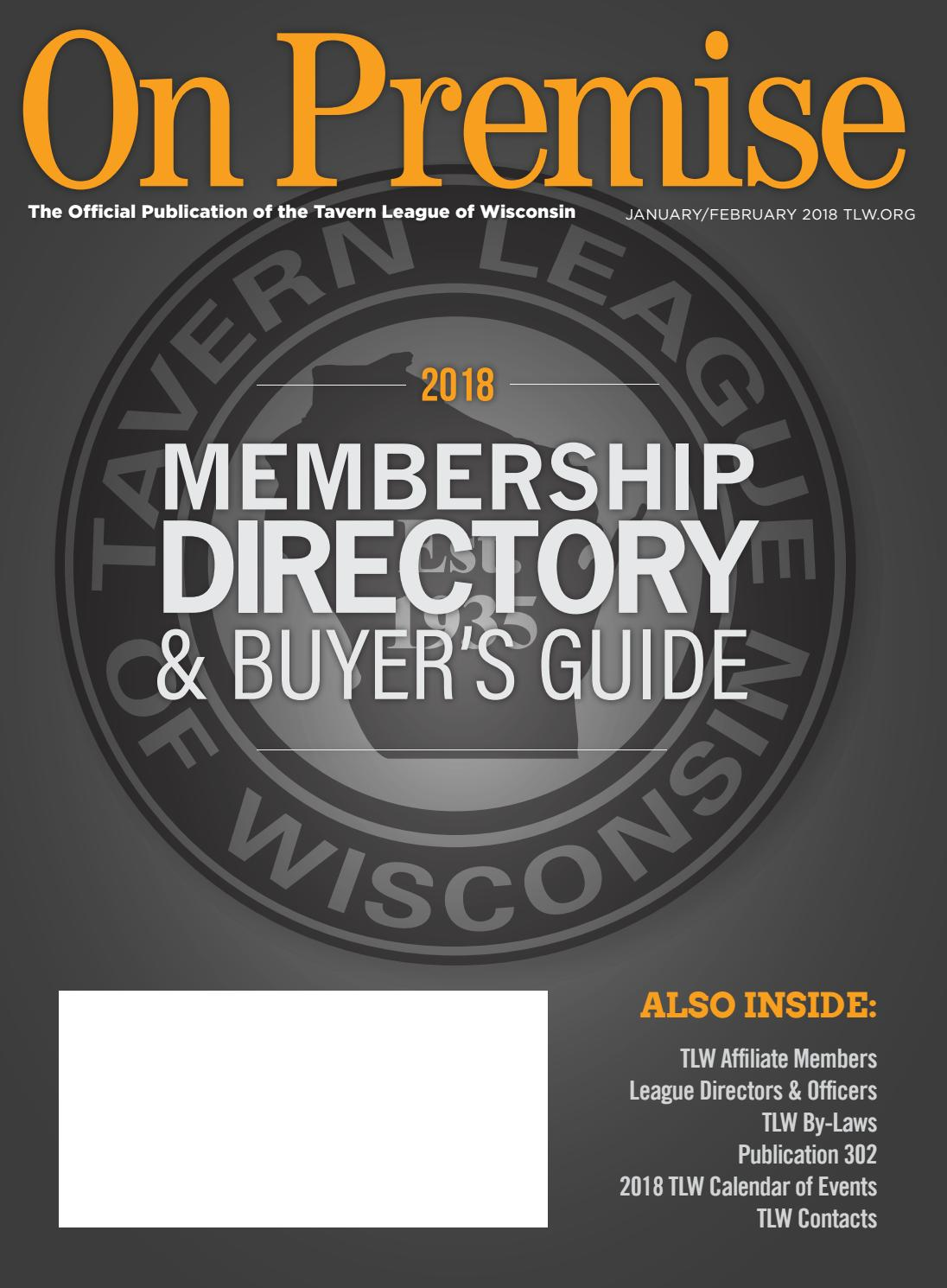 Abl Wholesale Distributors Inc Youngstown Oh On Premise Membership Directory Buyers Guide 2018 By Nei