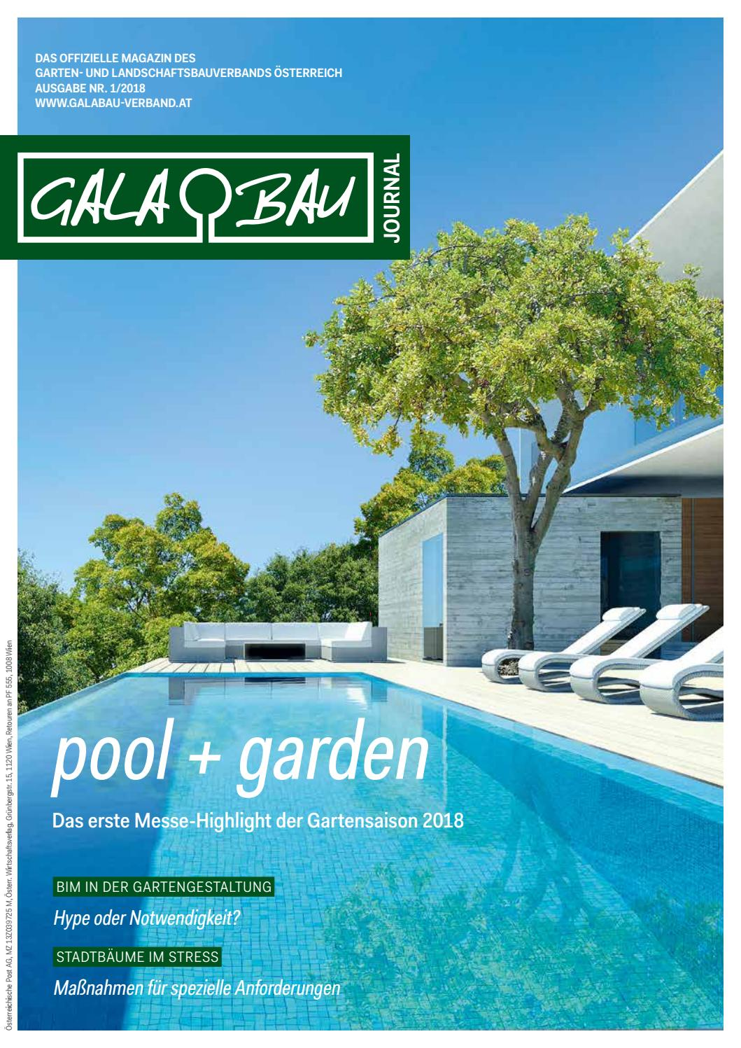Pool Garten Messe Tulln Galabau Journal By Galabauverband Issuu
