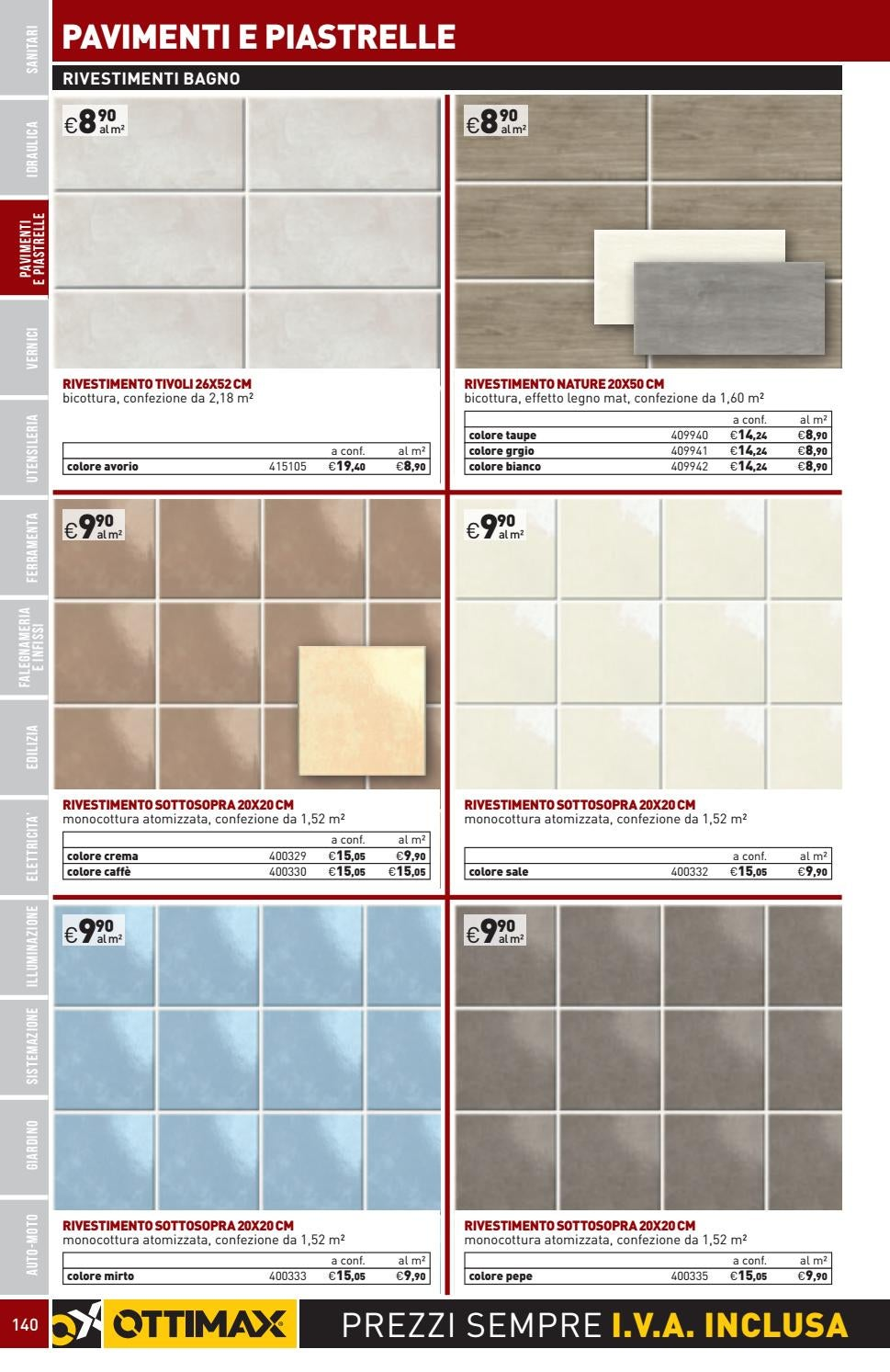 Piastrelle 20x20 Sale E Pepe Catalogo Generale Olbia 2018 By Ottimax Issuu