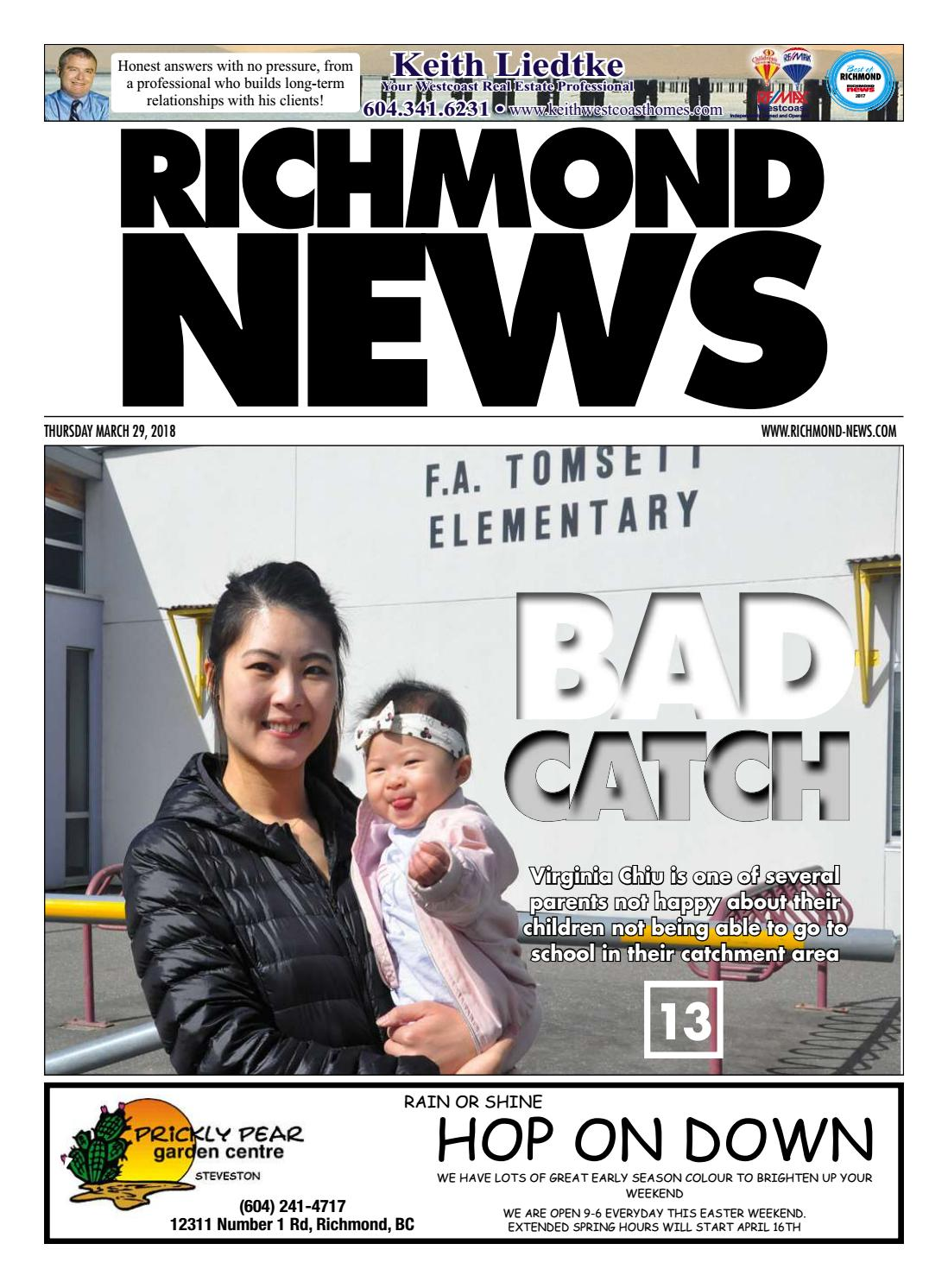 La Cucina Richmond Bc Richmond News March 29 2018