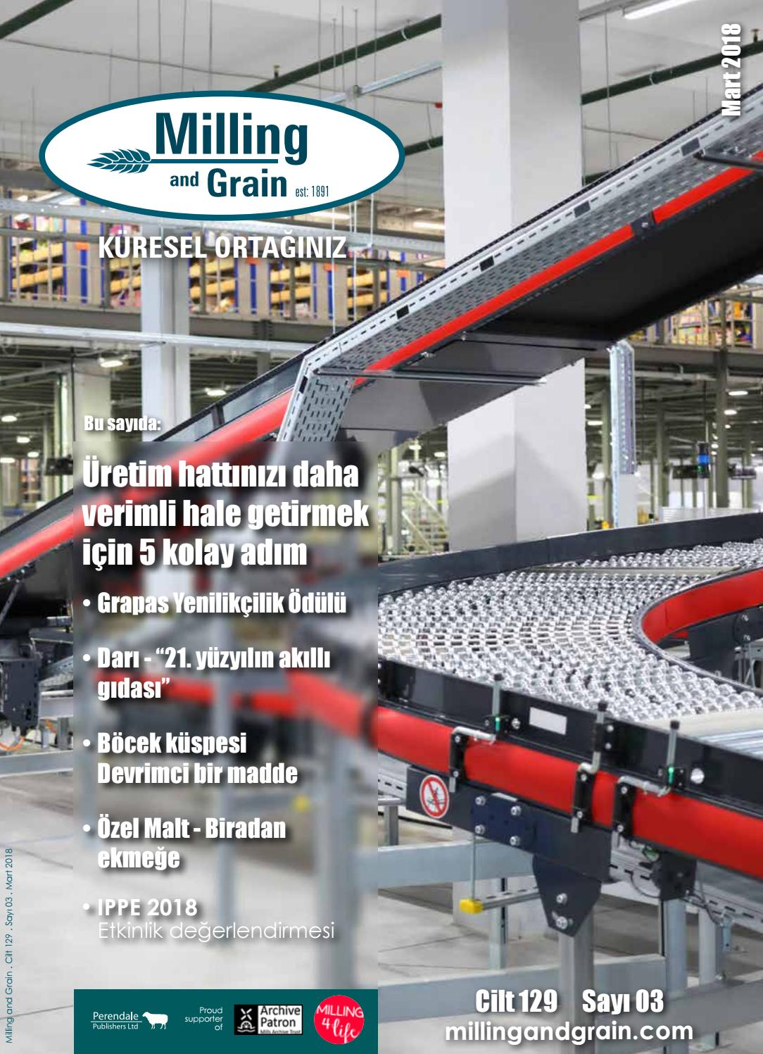 Pizza Family Braunschweig Turkish Language Edition Milling And Grain Issue 2 2018 By