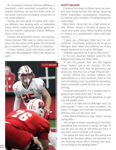 Varsity Magazine - April 4, 2018 by Wisconsin Badgers - issuu