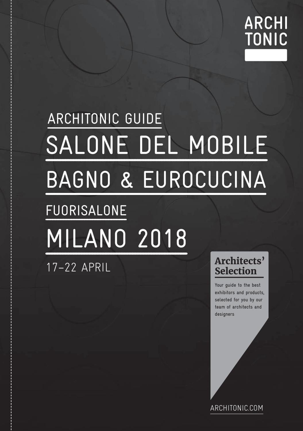 Möbel As Sha Architonic Guide Salone Del Mobile Milano 2018 By Gärtner Internationale Möbel - Issuu