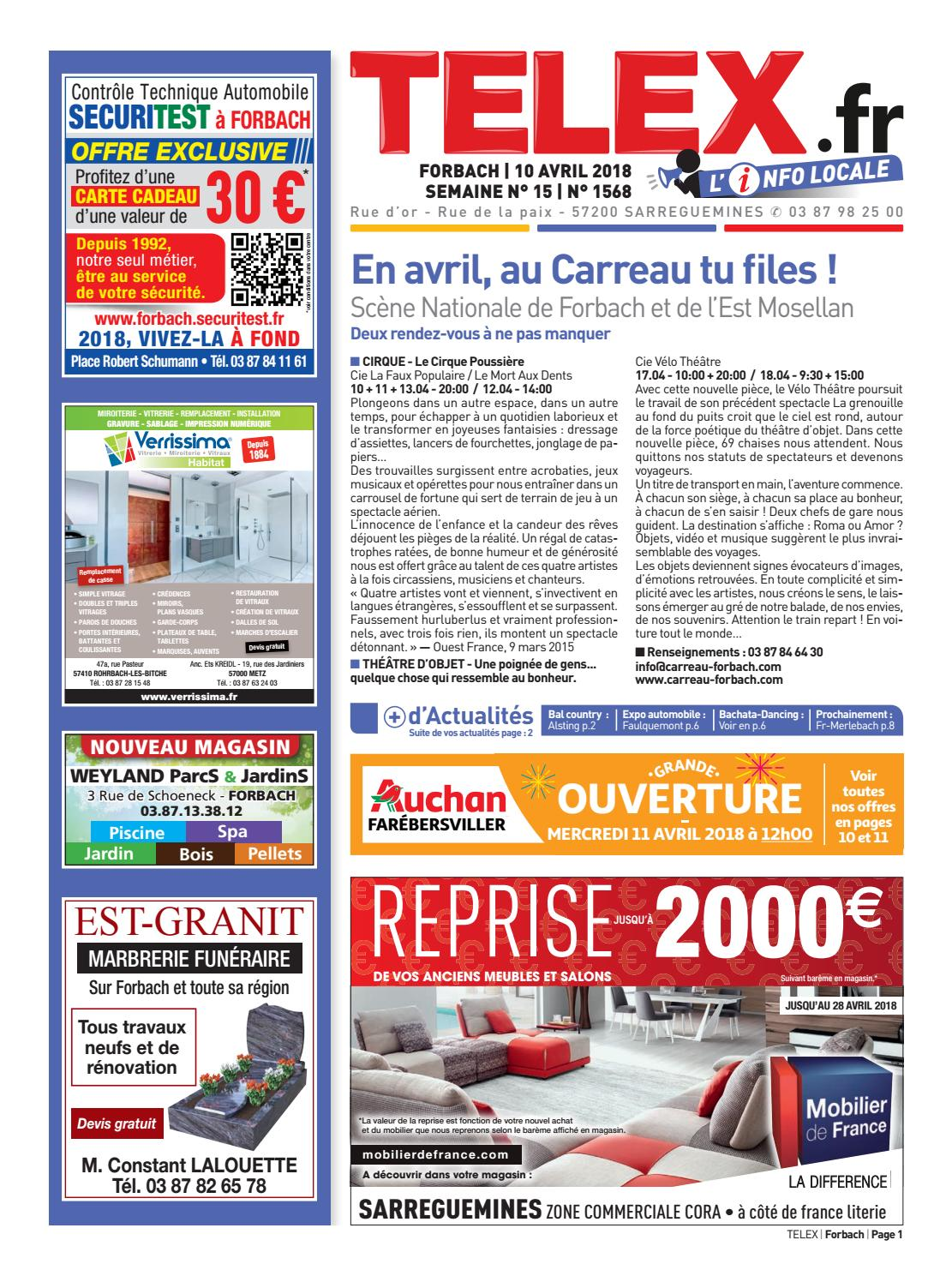 Meubles Auchan Cognac 1518 Forbach By Claude Vervin Issuu