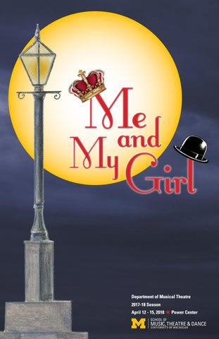 Me and My Girl program by University of Michigan School of Music