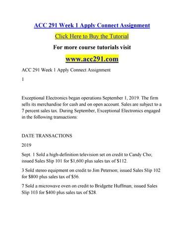 Acc 291 by willliamfaulkner54 - issuu - cash sales slip