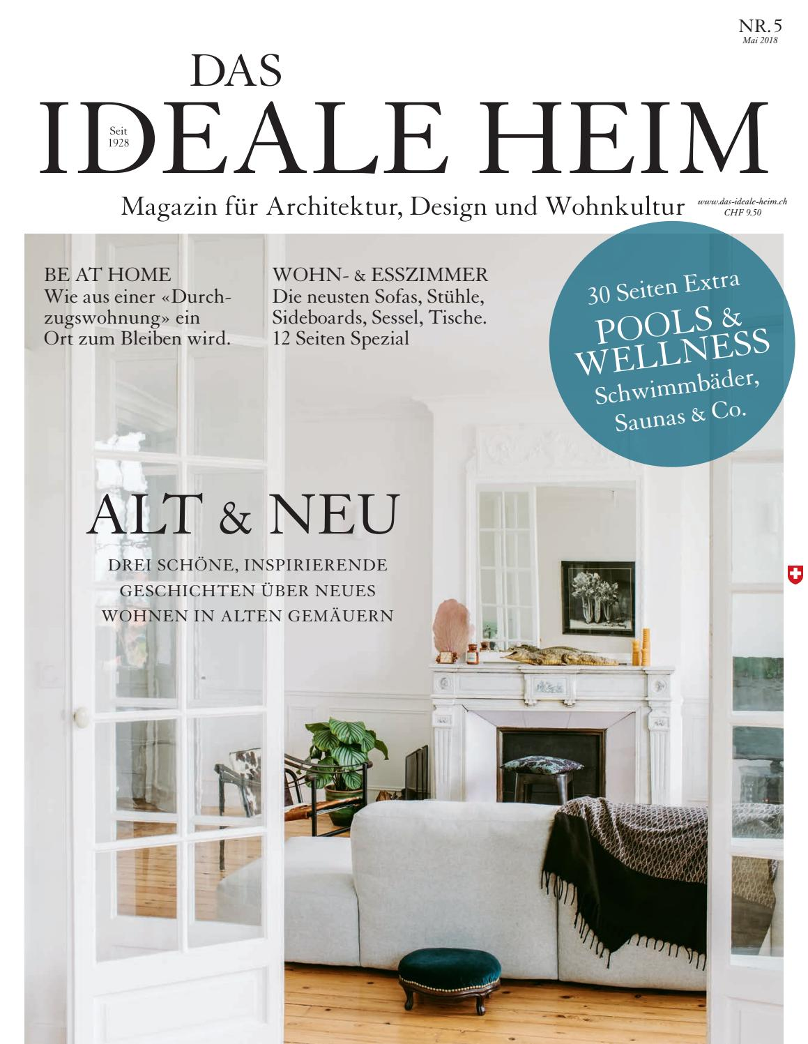Bettsofa Interio Ch Das Ideale Heim 05 2018 By Archithema Verlag Issuu