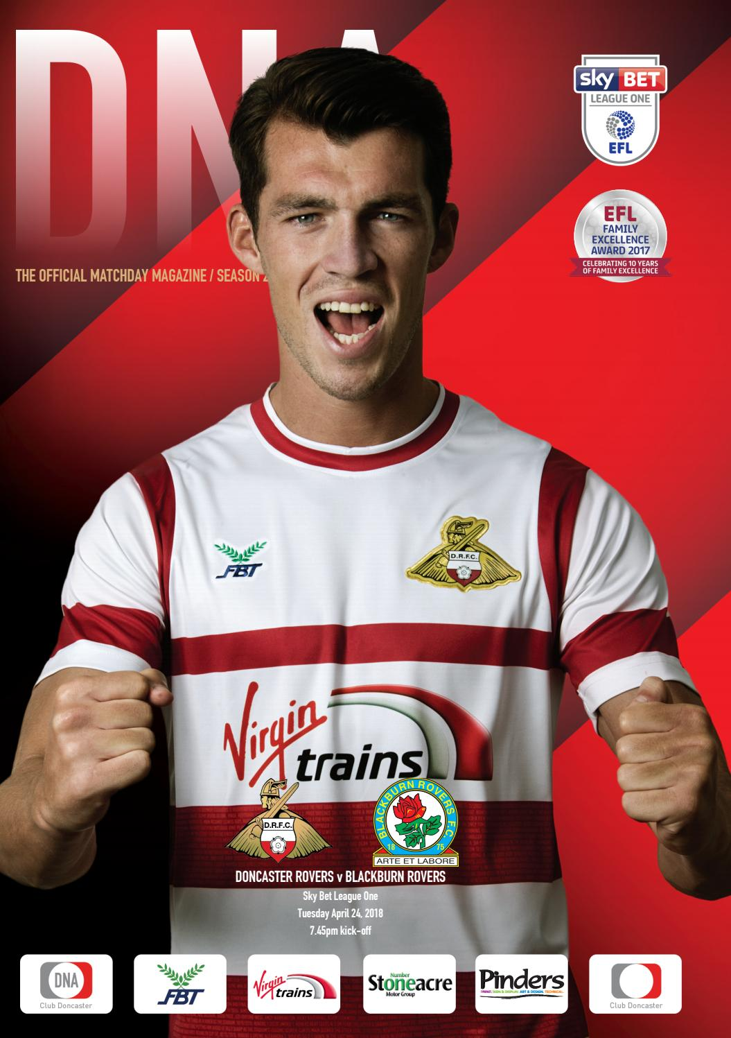 Arte Replay Wolf Hall Doncaster Rovers V Blackburn Rovers