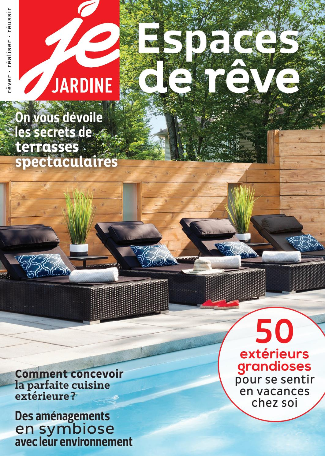 Chaise Suspendue Club Piscine Je Jardine Vol 02 No 04 By Éditions Pratico Pratiques Issuu