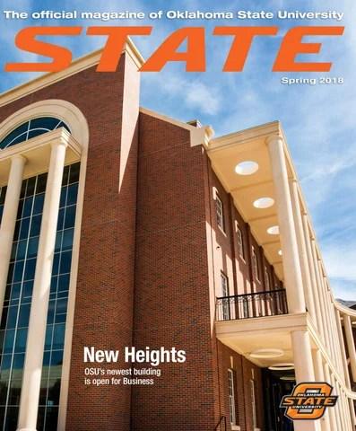 STATE Magazine Spring 2018 by Oklahoma State - issuu