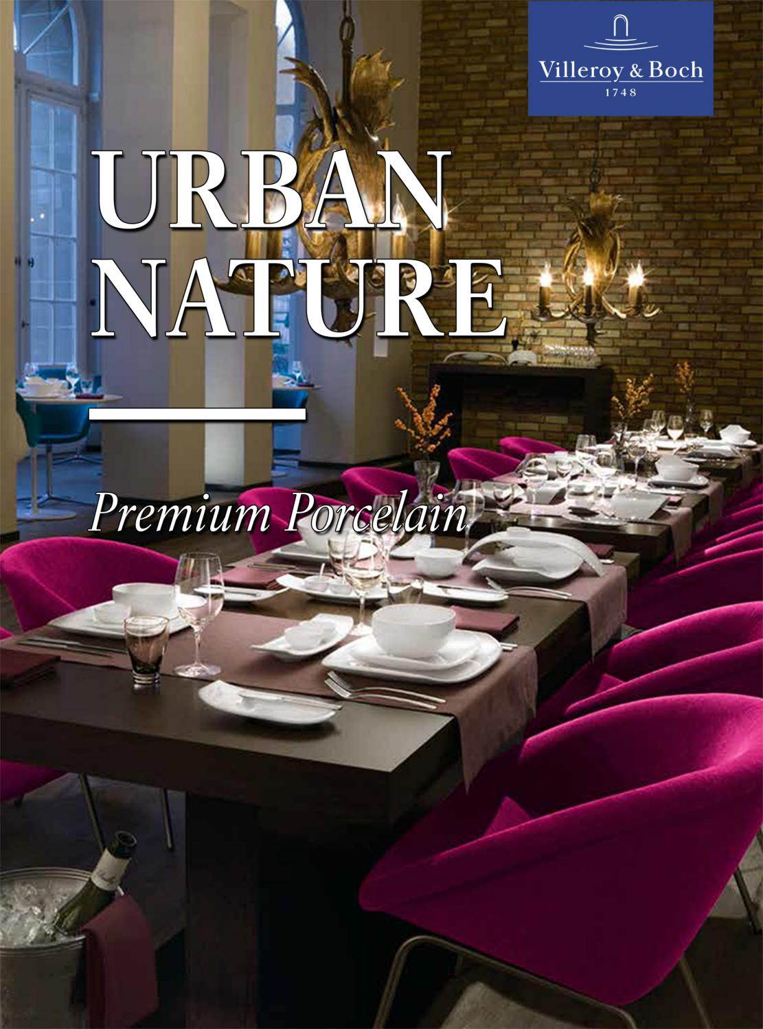 Urban Nature Interieur Villeroy And Boch Urban Nature Premium Porcelain By Beomox Issuu