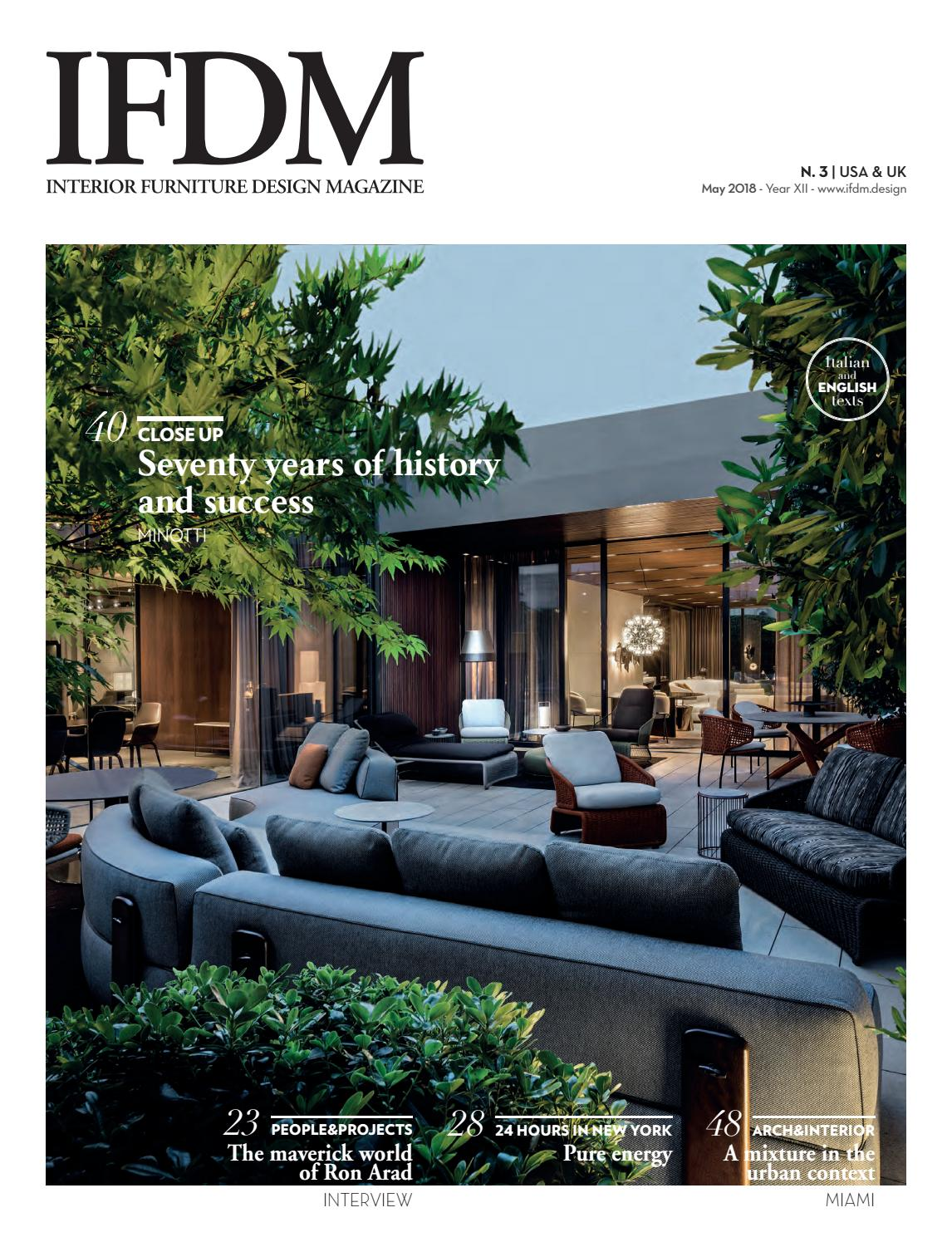 Molteni Divani Arosio Ifdm N 3 2018 Usa Uk By Ifdm Issuu