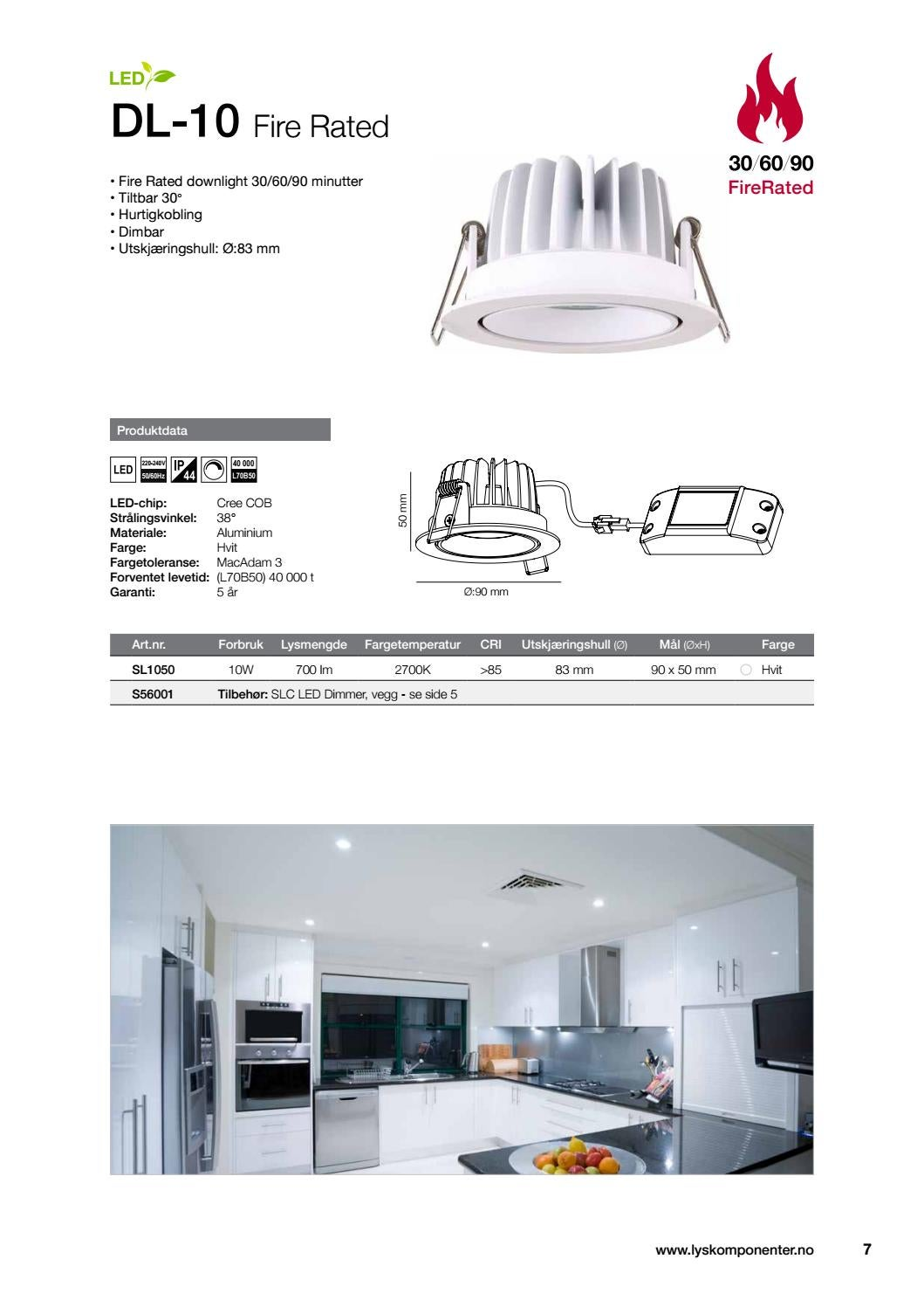 Design Dimbar Downlights Fra Lyskomponenter By Lyskomponeter As Issuu