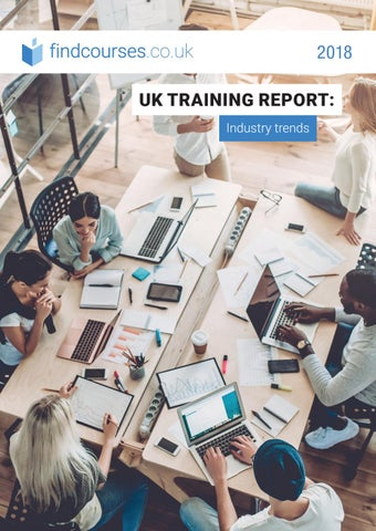 UK Training Report Industry Trends 2018 by EMG - Educations Media