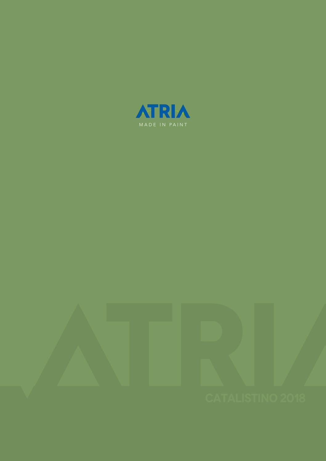 Pittura Termica Atria Catalistino Atria 2018 By Atriabox Issuu