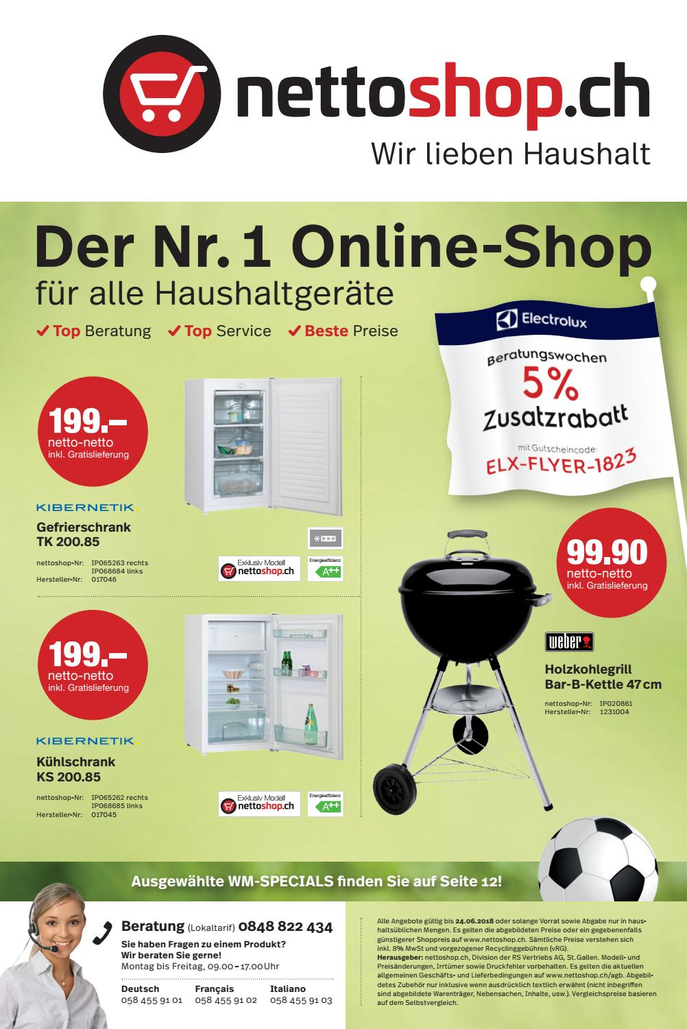 Klimagerät Nettoshop Nettoshop Ch Flyer 18 23 Deutsch Juni 2018 By Nettoshop