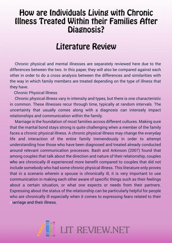 APA Literature Review Sample by Lit Review Samples - issuu