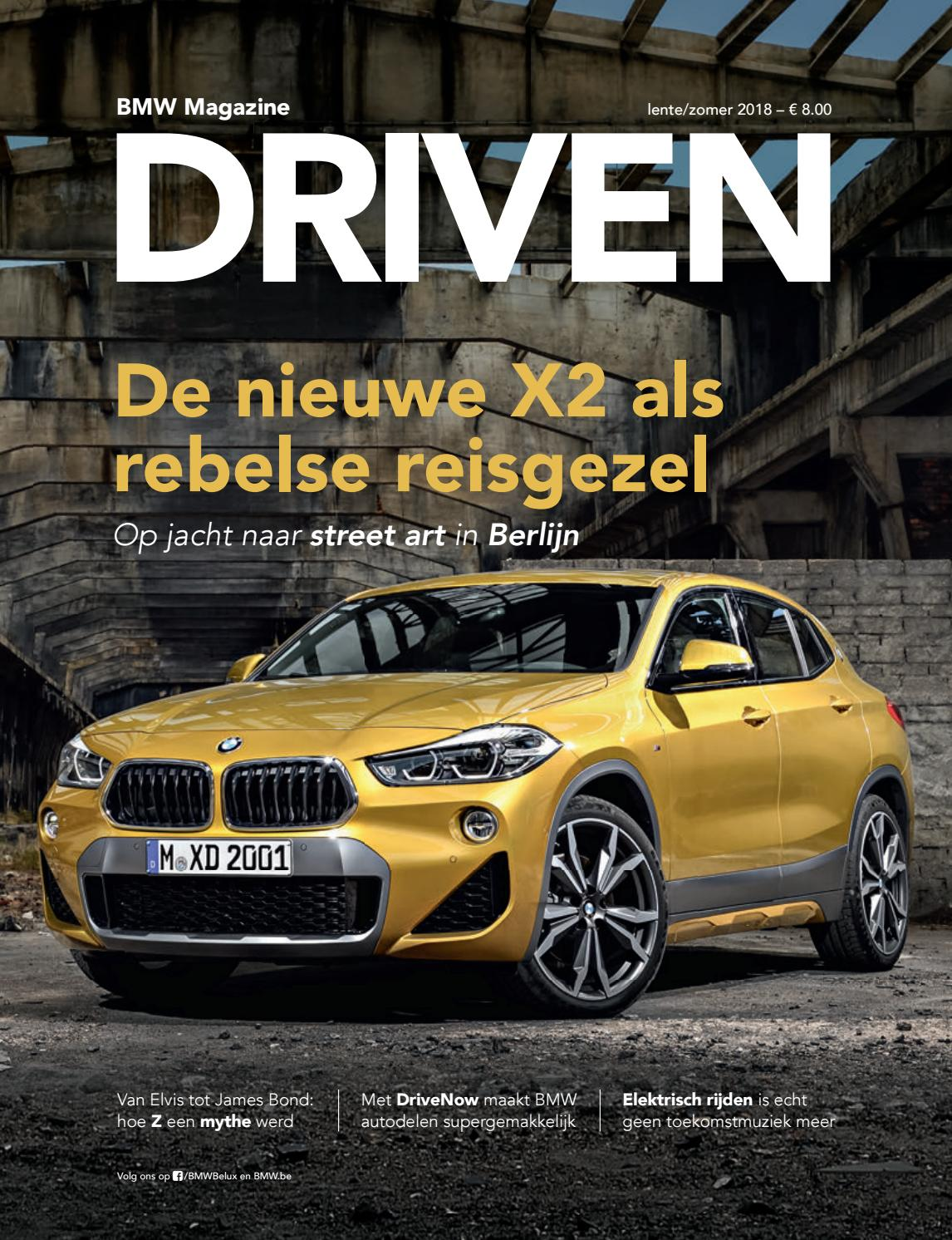 Led Verlichting Bmw X1 Bmw Magazine Driven Nl 2018 1 Zomer By Bmw Group Belux Issuu