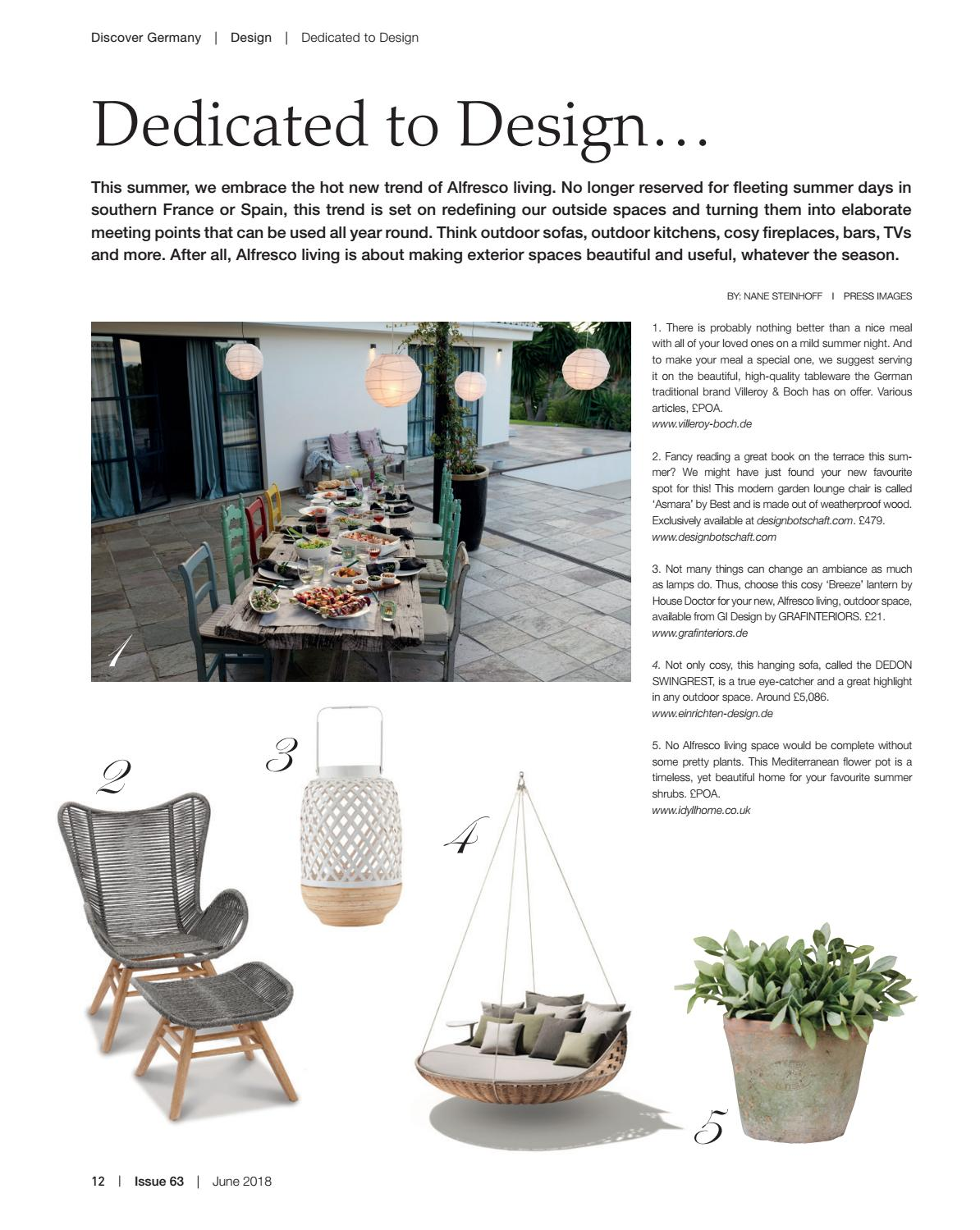 Einrichten Design App Discover Germany Issue 63 June 2018 By Scan Group Issuu