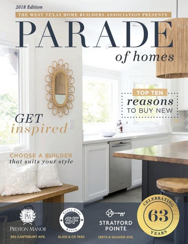 2018 Spring Parade of Homes Magazine by Greensboro Builders