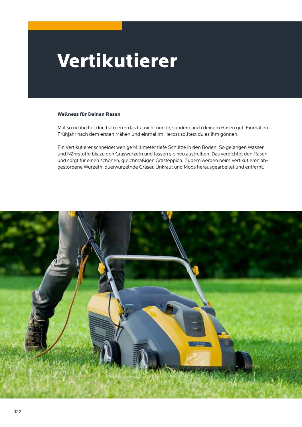 Im Herbst Vertikutieren Consumer Catalogue 2018 De By Stiga Issuu