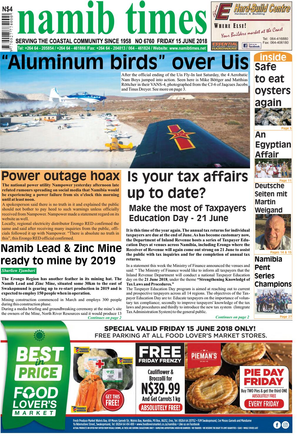 Criminal Case Fall 4 Wohnzimmer 15 June Namib Times E Edition By Namib Times Virtual Issuu