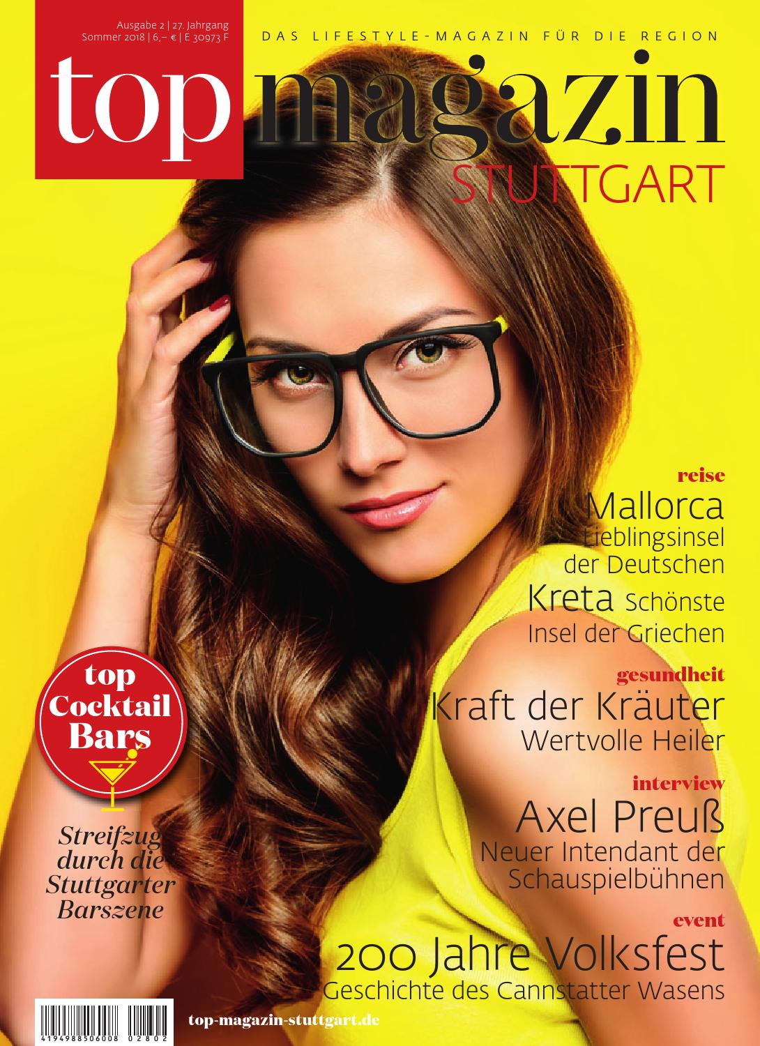 Top Magazin Stuttgart Sommer 2018 By Top Magazin Issuu