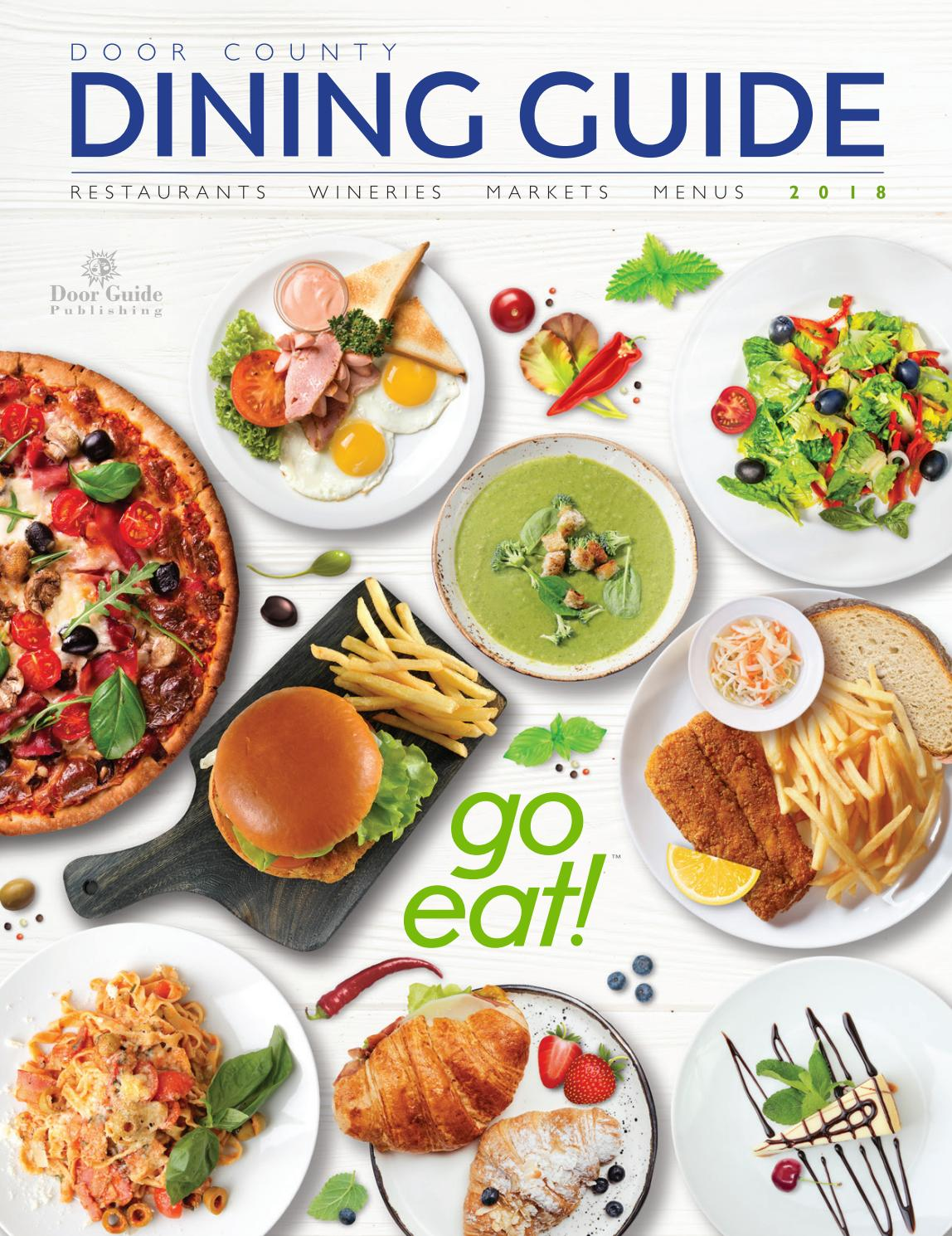 La Cocina Restaurant Fox Lake Il 2018 Door County Dining Guide By Door Guide Publishing Issuu