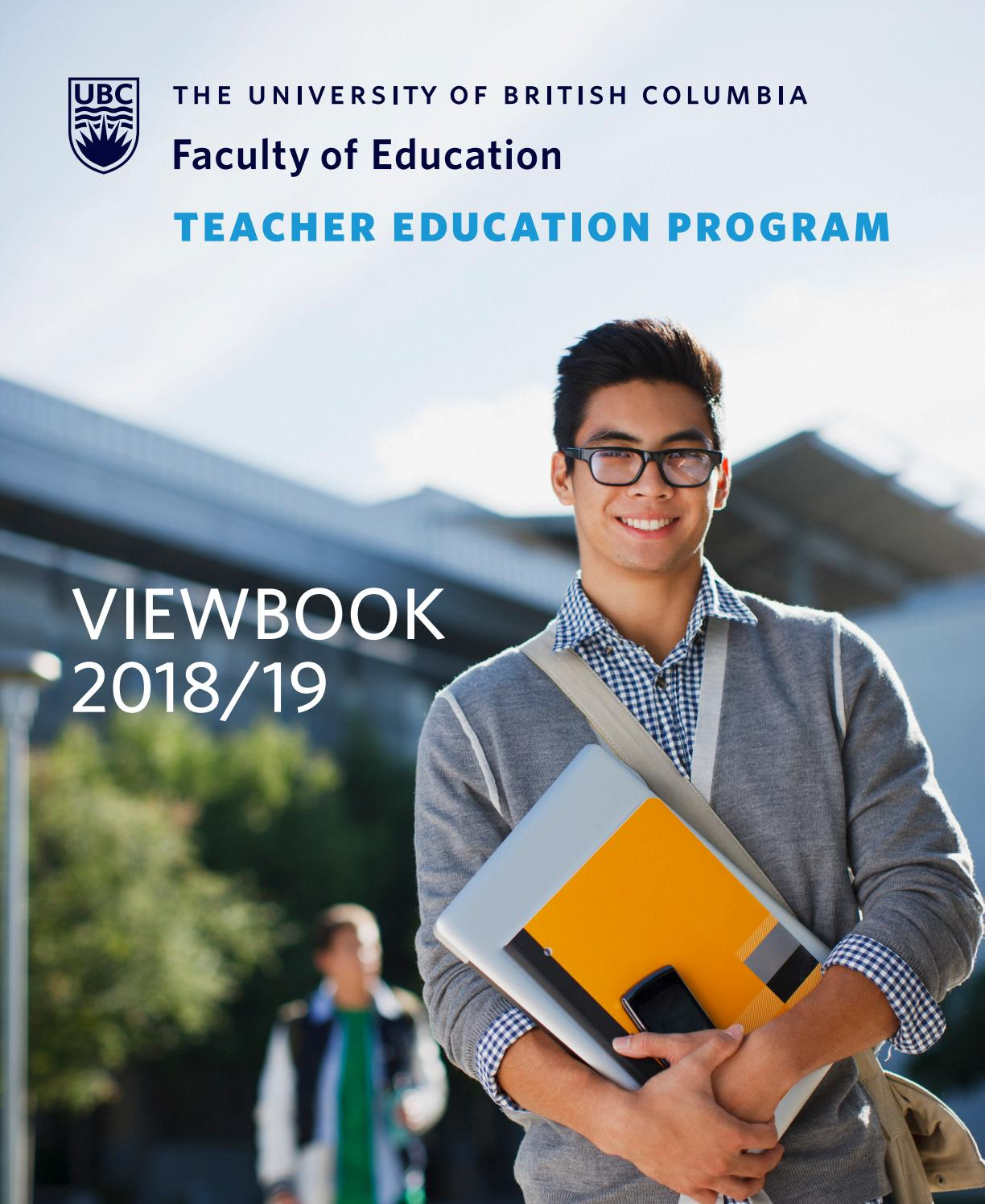 University Of British Columbia Teacher Education Program Viewbook - Home Economics Teacher Ubc