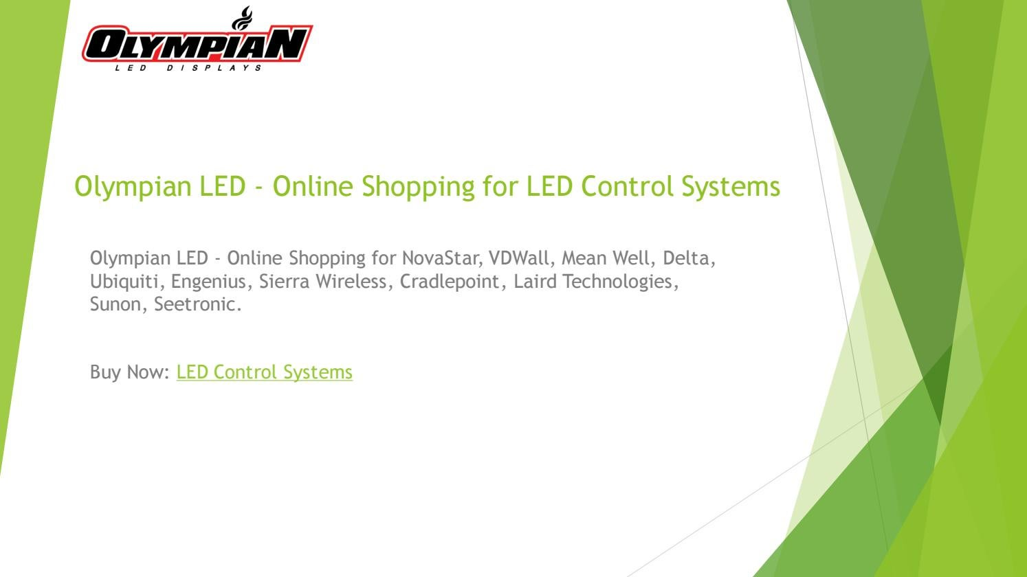 Led Online Shop Olympian Led Online Shopping For Led Control Systems Power