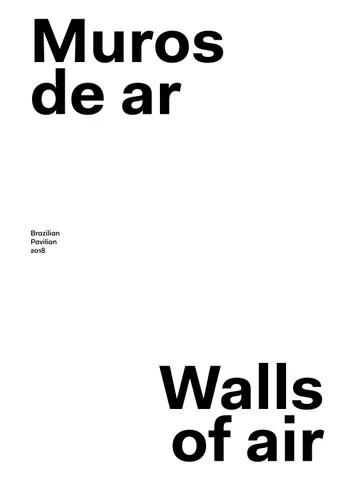 Walls of Ar - Brazilian Pavilion, Venice Biennale 2018 English by