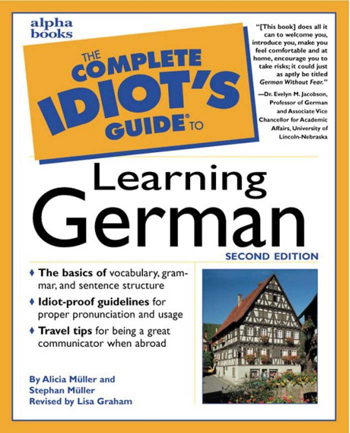 Play Doh Küche Müller The Complete Idiot S Guide To Learning German