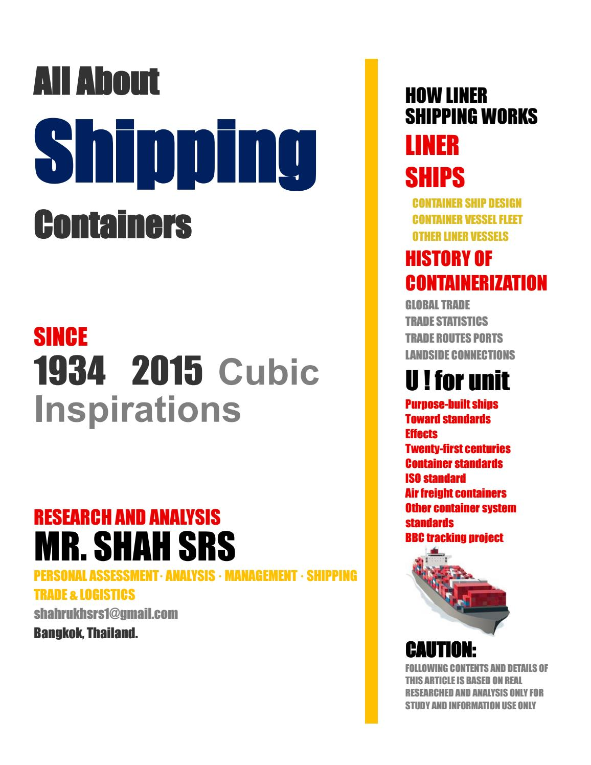 Container Haus Thailand All About Shipping Containers Shahsrs By Shahrukhsiddiqui Issuu