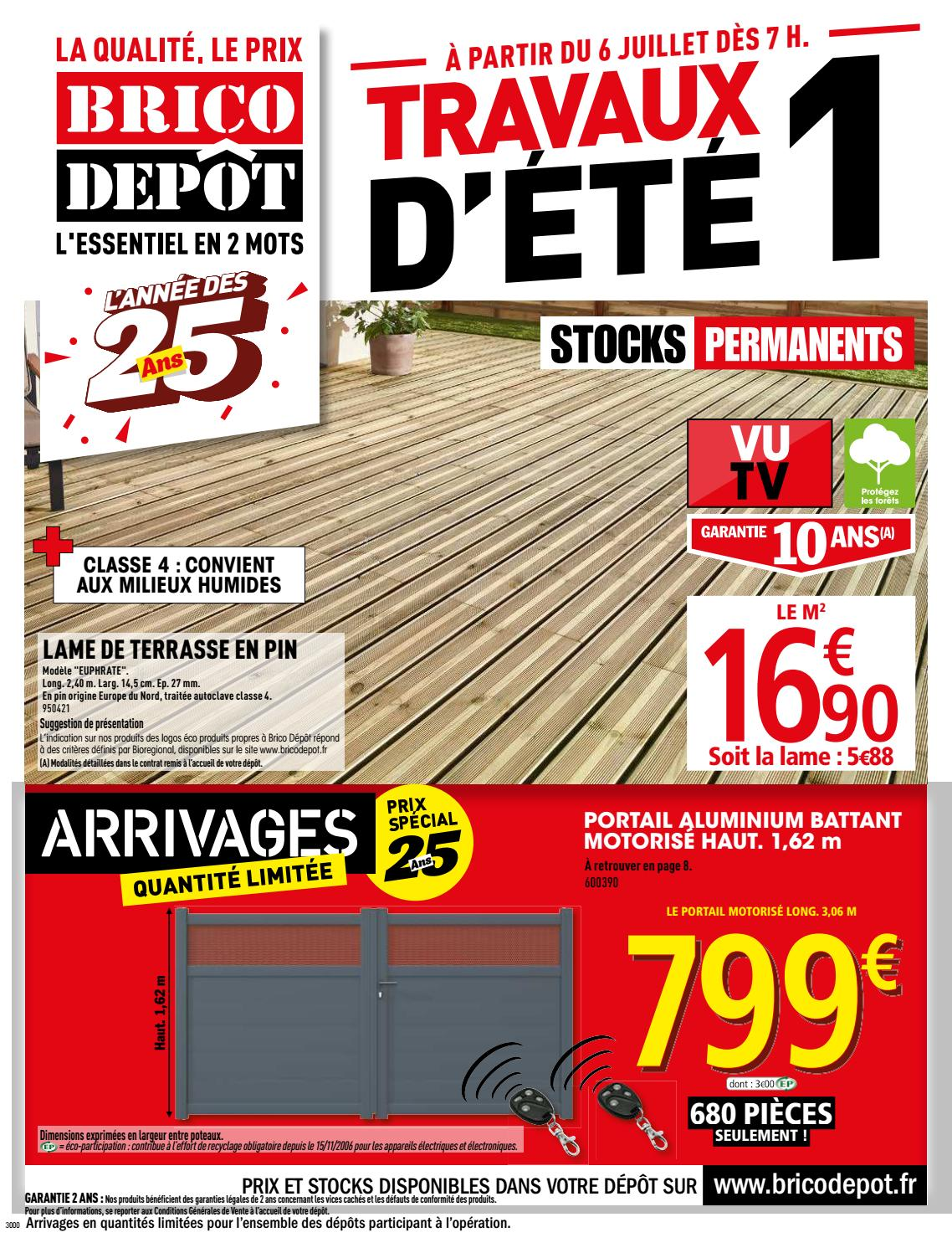 Store Banne Brico Depot Aigues Vives Dep060718 1 By Jan Deo Issuu