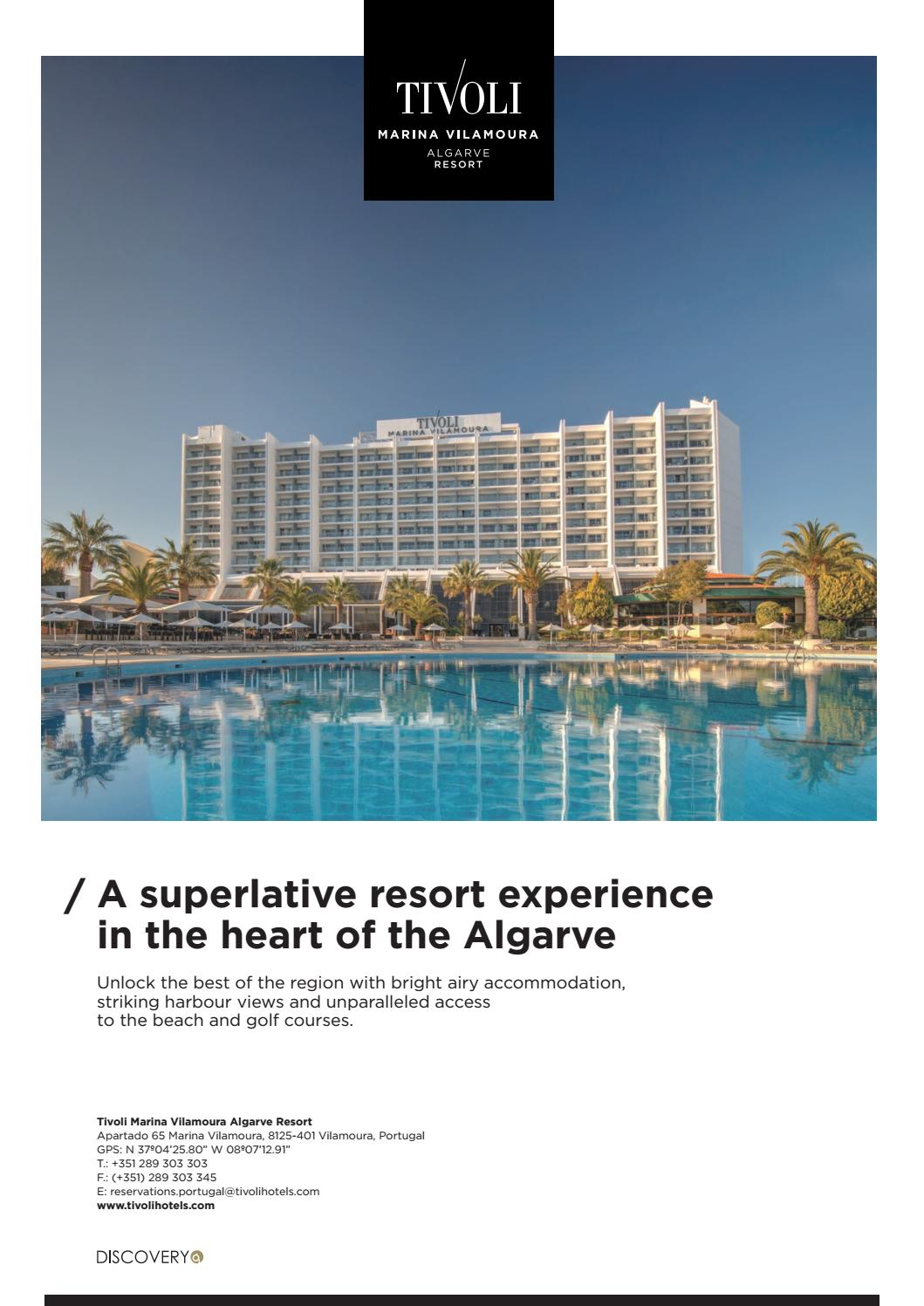 Portugal Algarve Tivoli Marina Portimao Tivoli Marina Vilamoura Fact Sheet By Minorhotels0 Issuu