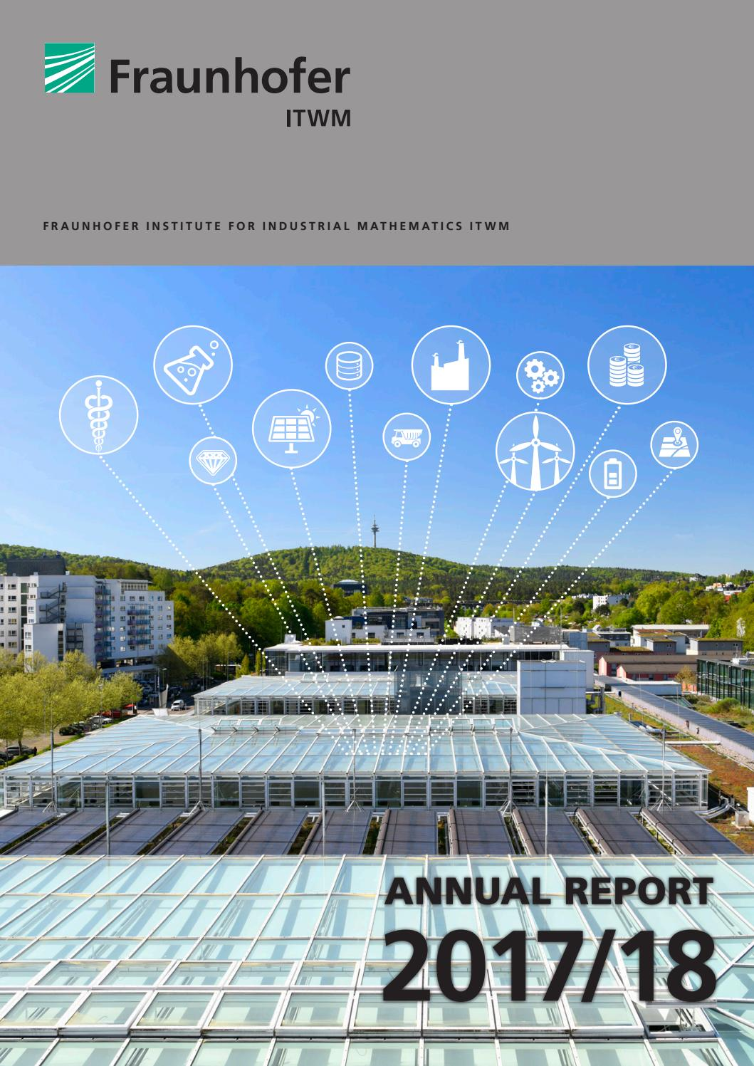 Gfk Pool Duisburg Annual Report 2017 18 Fraunhofer Institute For Industrial