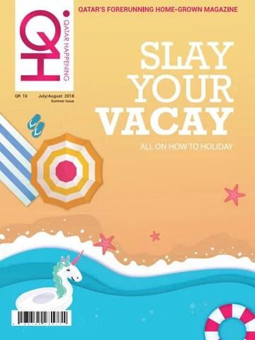 Qatar Happening July/August Summer Issue 2018 by Qatar Happening - issuu