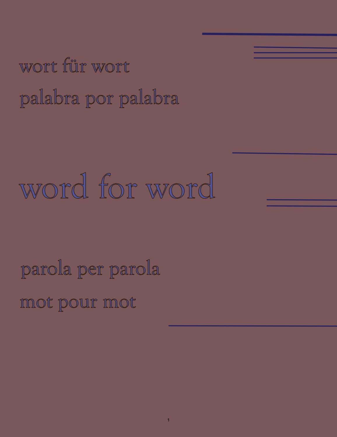Ir Camino De Traduzione 2016 Word For Word By Cusoa Issuu