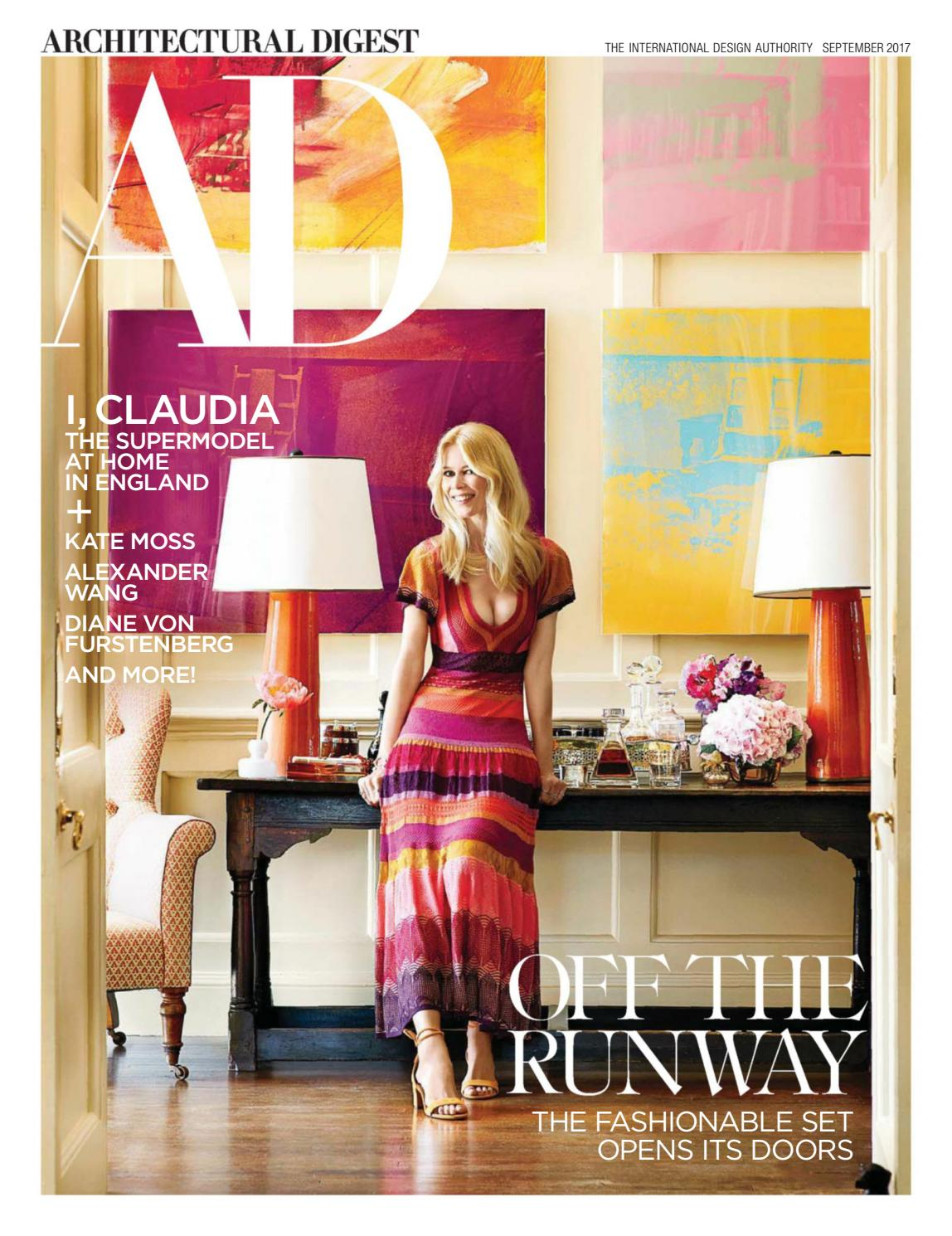 Architectural Digest Usa September 2017 By Kiếntrúc Online Issuu