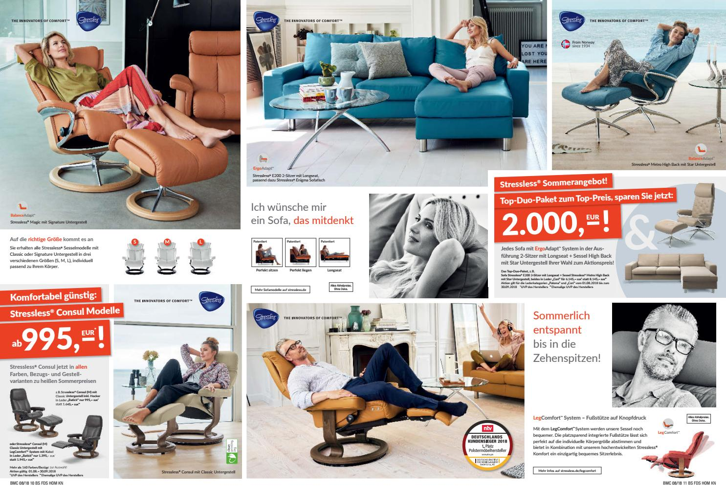 Stressless Magic Signature Sessel Braun Möbel Center 26 07 2018