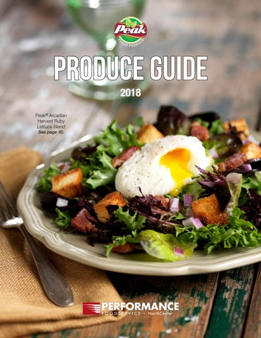 Produce Guide by Performance Foodservice - issuu