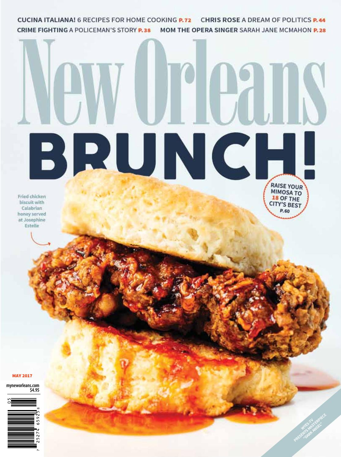 Cucina Restaurant Wentworth Point New Orleans Magazine May 2017 By Renaissance Publishing Issuu