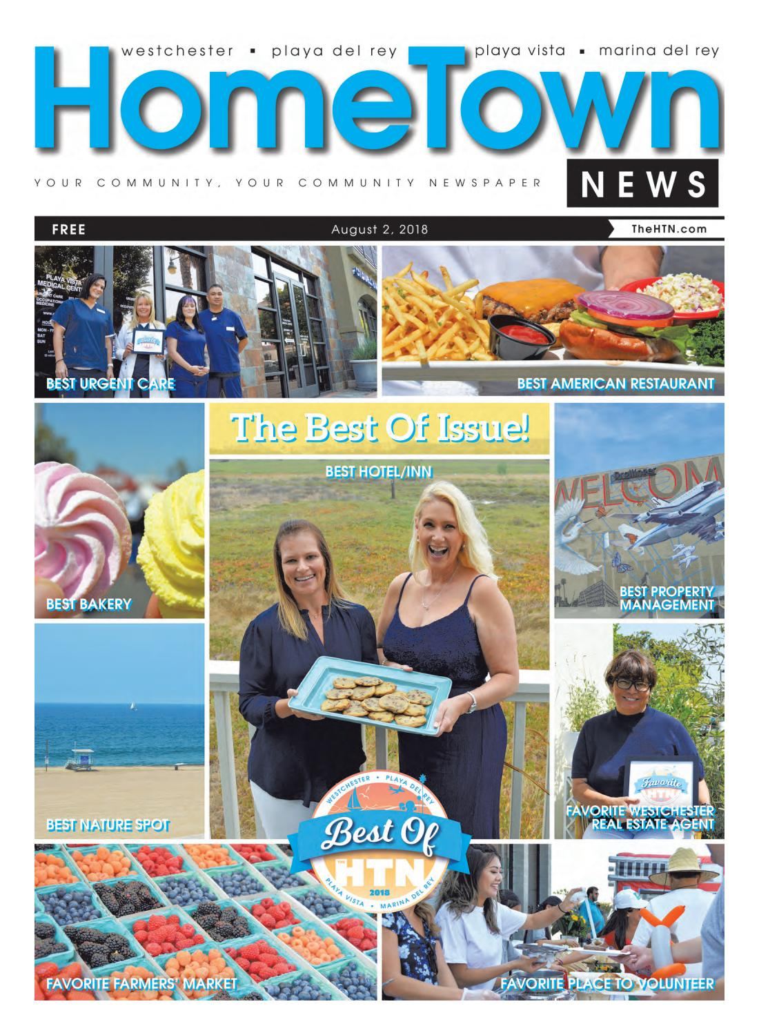 Cucina Trattoria Marina Del Rey Westchester Playa Hometown News August 2018 Edition
