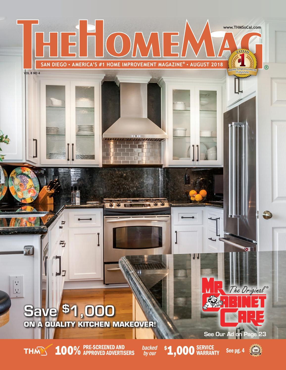 The Home Mag San Diego August 2018 By Thehomemag Socal Issuu