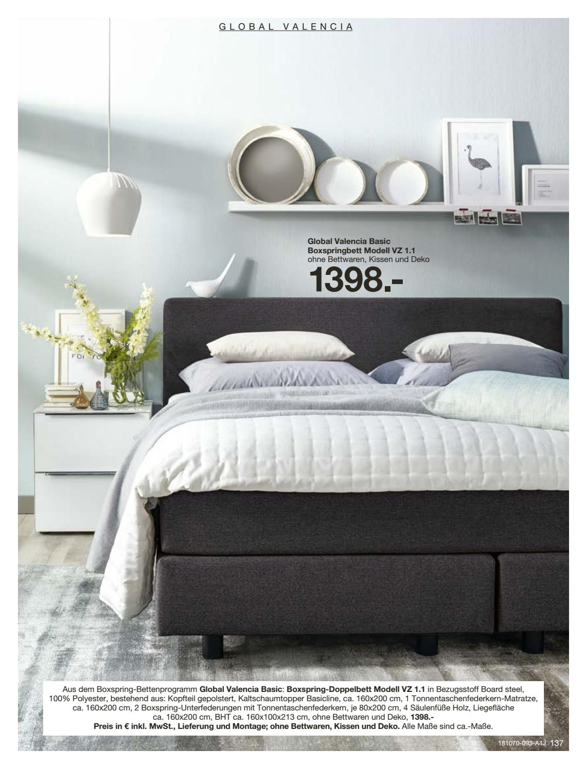 Doppelbett Boxspring Global Family By Europa Möbel Verbund Gmbh Issuu