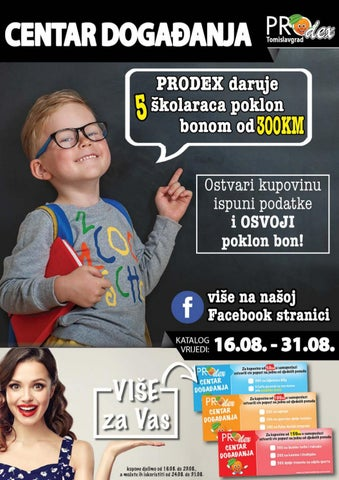 Prodex TG katalog supermarketa od 16-31082018 by Catalogba - issuu