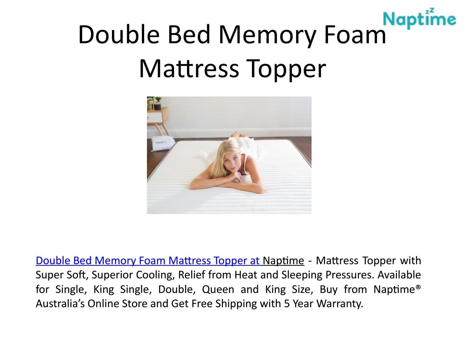 King Size Mattress Australia King Size Foam Mattress Topper At Naptime Australia By Naptime Issuu