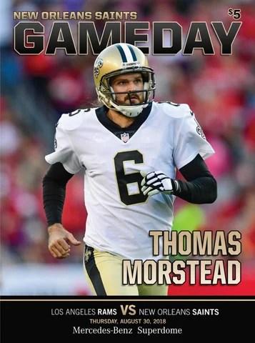 Saints Gameday New Orleans Saints VS Los Angeles Rams Thursday
