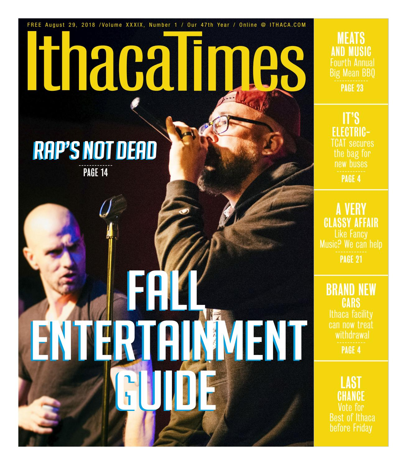 August 29 2018 By Ithaca Times Issuu