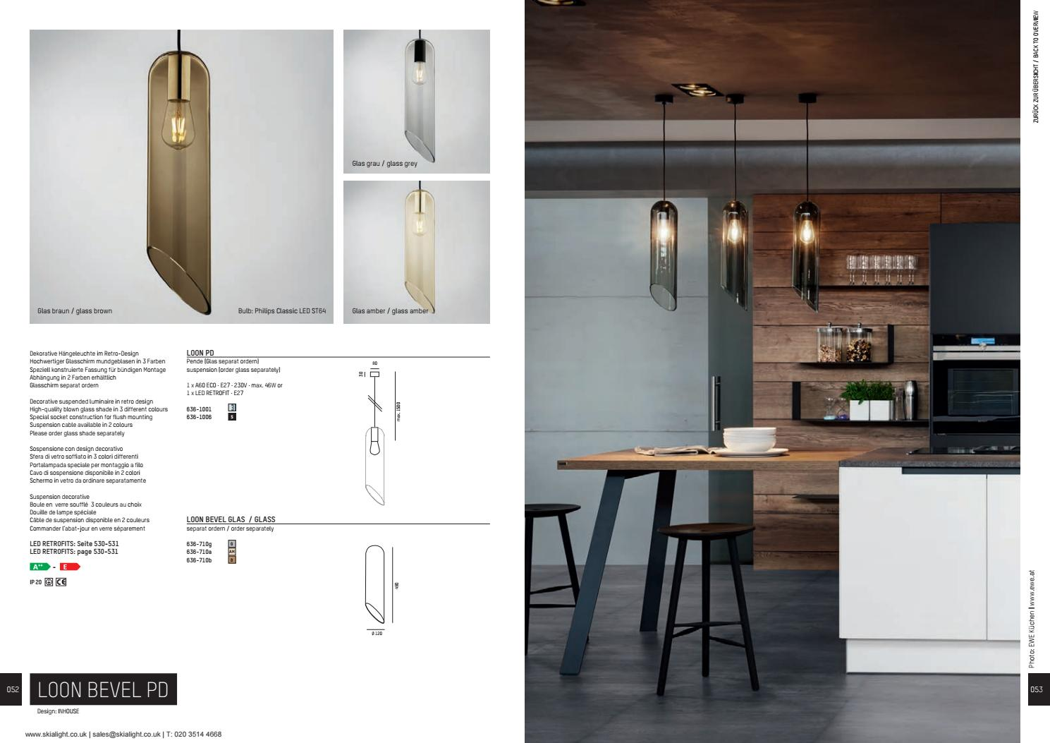 Retro Hängeleuchte Moltoluce Architectural Lighting Catalogue 2019 By Skialight By
